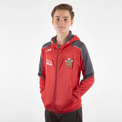 VX3 Help for Heroes Wales 2019/20 Kids FZ Hooded Rugby Sweat