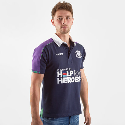 VX3 Help for Heroes Scotland 2019/20 S/S Rugby Shirt