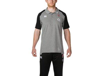 Canterbury England Pique Polo Shirt Mens