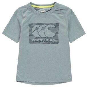 Canterbury CCC Large Logo T Shirt Juniors