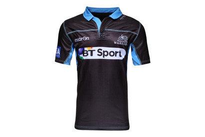 Macron Glasgow Warriors 2015/16 Home S/S Replica Rugby Shirt