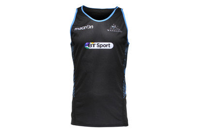 Macron Glasgow Warriors 2015/16 Players Dry Rugby Training Singlet