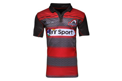 Macron Edinburgh 2015/16 Home S/S Replica Rugby Shirt