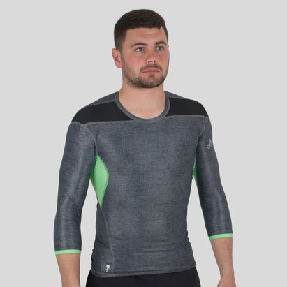 adidas Techfit Climachill 3/4 Sleeve T-Shirt
