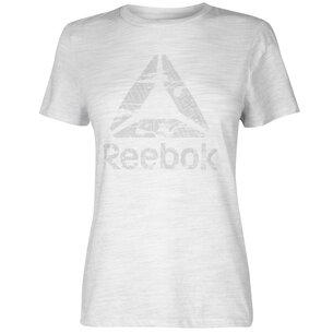 Reebok Logo T Shirt Ladies
