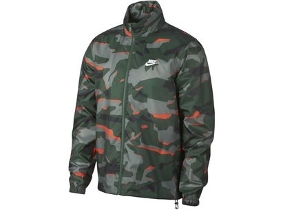 Nike Camo Windbreaker Jacket Mens
