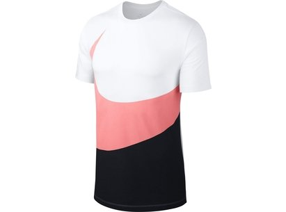 Nike Swoosh Hybrid T Shirt Mens