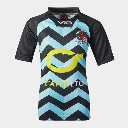 VX3 Carmarthen Warriors 2019 Playing Shirt Kids