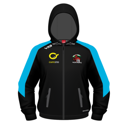 VX3 Carmarthen Warriors 2019 Full Zip Hooded Sweat