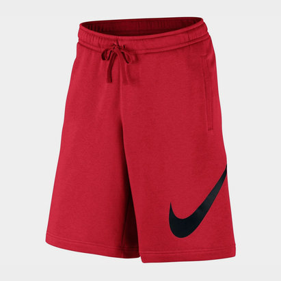 Nike Swoosh Fleece Shorts Mens