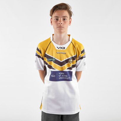 VX3 York City Knights 2019 Alternate Kids Replica Rugby League Shirt