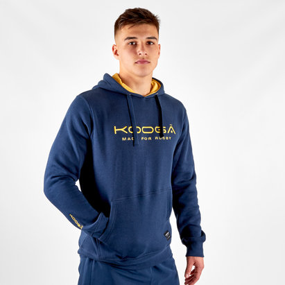Kooga Large Logo Hooded Rugby Sweat