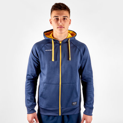 Kooga Contrast Full Zip Hooded Rugby Sweat