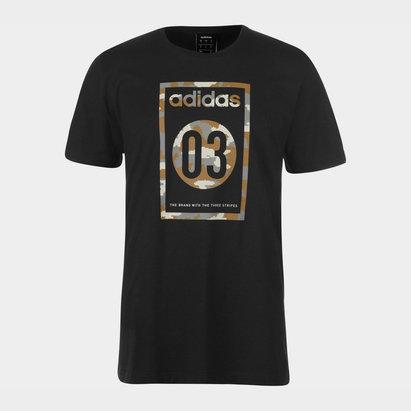 adidas Camo Mens T shirt