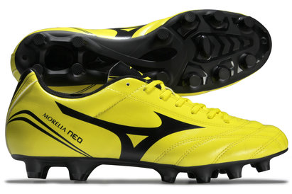 Morelia Neo CL MD FG Football Boots Bolt/Black