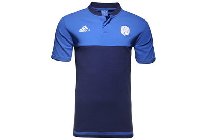 adidas France 2015/16 Players Anthem Rugby Polo Shirt