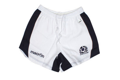 Macron Scotland 2015/16 Home Players Rugby Shorts