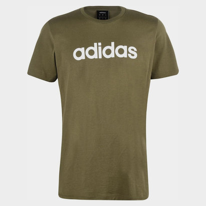 adidas Linear Logo T-Shirt Mens