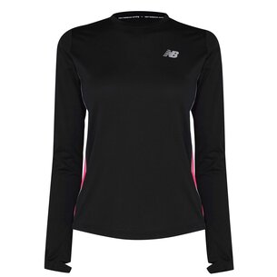 adidas Accelerate Long Sleeve Running T Shirt Womens