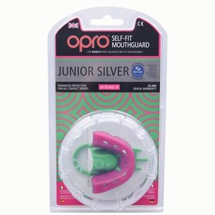 OproShield Kids Silver Mouth Guard