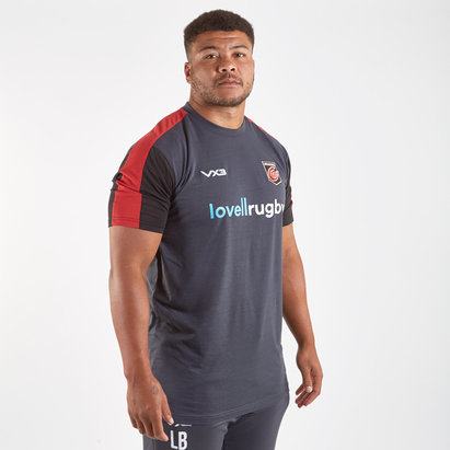 VX3 Dragons 2019/20 Players Cotton Rugby Training T-Shirt
