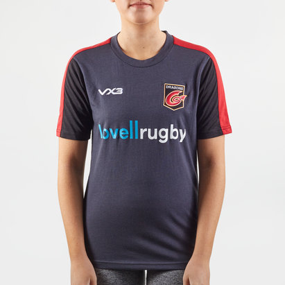 VX3 Dragons 2019/20 Ladies Cotton Rugby Training T-Shirt