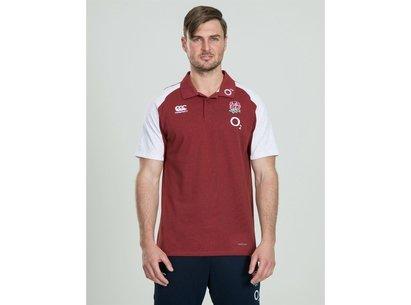 Canterbury England Polo Shirt Mens