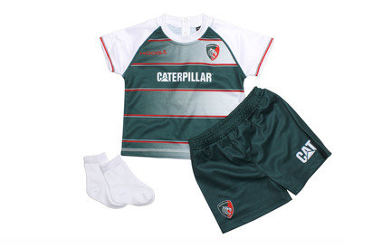 Leicester Tigers 201516 Home Infants Replica Rugby Kit