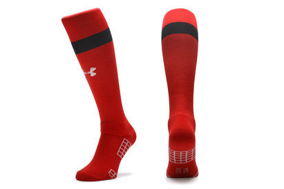 Under Armour Wales WRU 2015/16 7s Home Players Rugby Socks