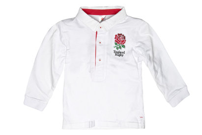 England Rugby England 2015/16 Infant Classic Rugby Shirt