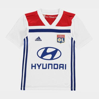adidas Kids Lyon Home Shirt 2018 2019