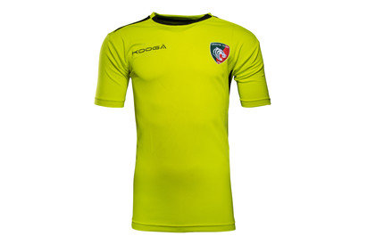 Leicester Tigers 201617 Players Gym Rugby Training TShirt