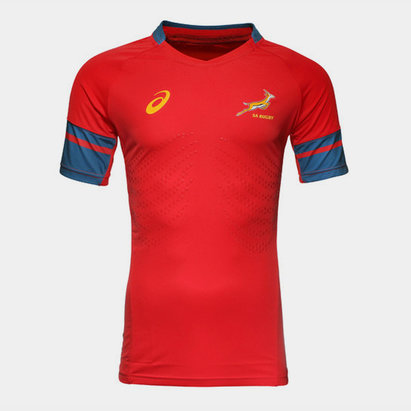 Asics South Africa Springboks 2017/18 Rugby Training Shirt