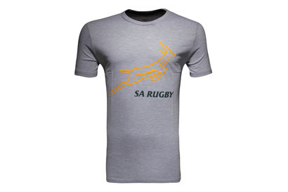 Asics South Africa Springboks 2015/16 Graphic Rugby T-Shirt