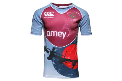 Canterbury RAF Vultures 2016 S/S Replica Rugby Shirt