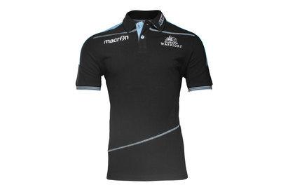 Macron Glasgow Warriors 2016/17 Cotton Piquet Rugby Polo Shirt