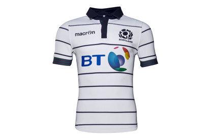 Macron Scotland 2016/17 Alternate S/S Test Rugby Shirt