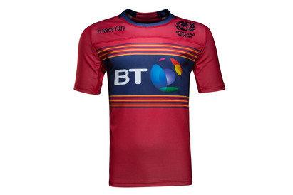 Macron Scotland 7s 2016/17 Alternate S/S Replica Rugby Shirt