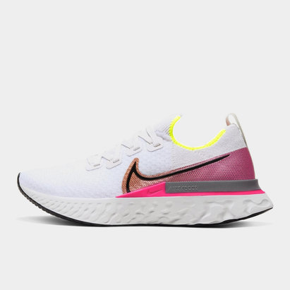 Nike Ladies React Infinity Run Flyknit Running Shoes