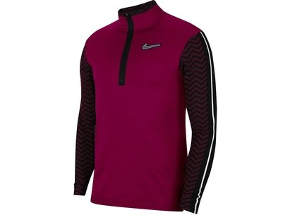 Nike Wind Resistant Element Zip Top Mens