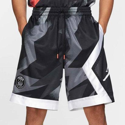 Nike Paris Saint Germain x Jordan Blocked Shorts Mens