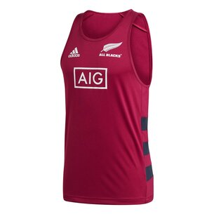 adidas New Zealand All Blacks Mens Singlet Vest