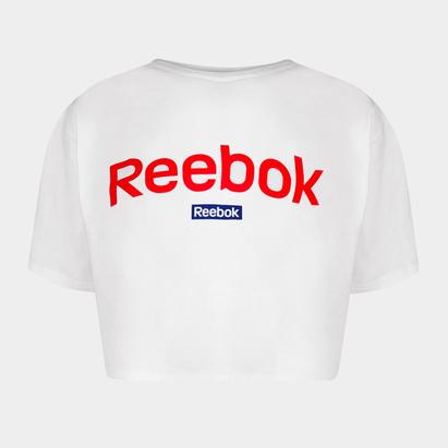 Reebok Linear Crop Top Ladies