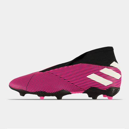 adidas Nemeziz 19.3 Childrens Laceless FG Football Boots