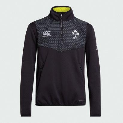 Canterbury Ireland 2019/20 Quarter Zip Training Top Junior