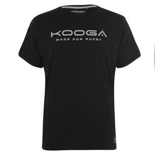 KooGa Cotton Logo T Shirt Senior