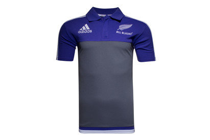 New Zealand All Blacks 201617 Players Media Rugby Polo Shirt