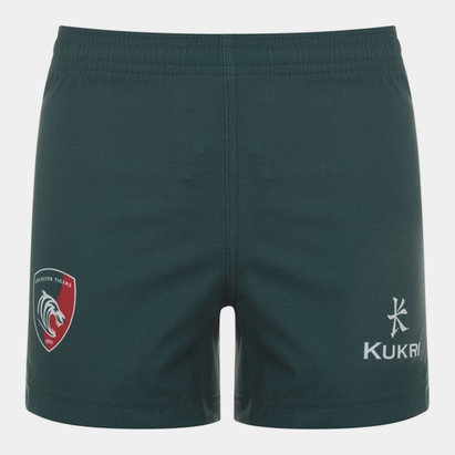 Kukri Leicester Tigers 2019/20 Home Kids Shorts