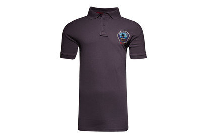 World Beach Rugby Vintage Off Field Logo Rugby Polo Shirt