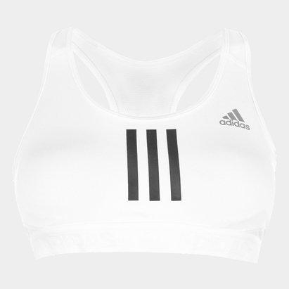 adidas 3 Stripe Medium Bra Ladies